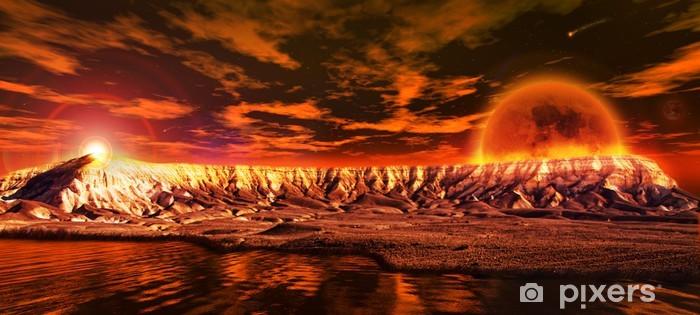 Fototapeta winylowa Red Planet - Koncepcje biznesowe