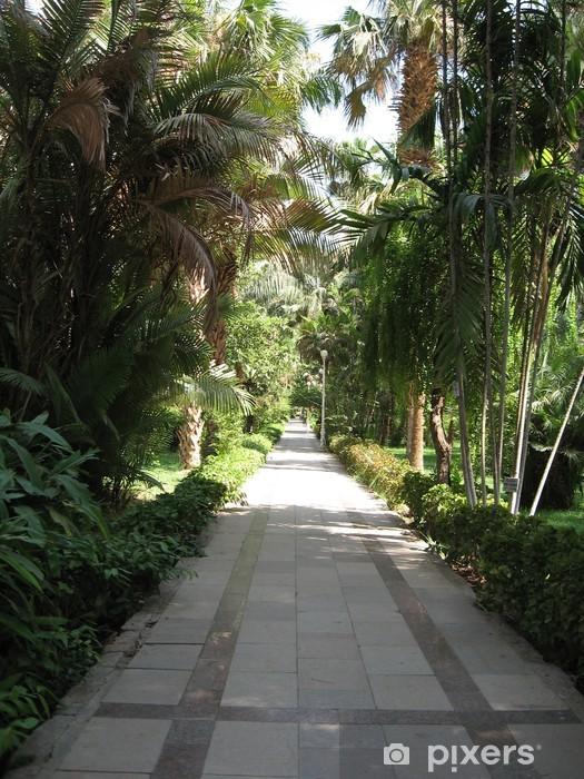 Nálepka Pixerstick Botanická zahrada - Afrika
