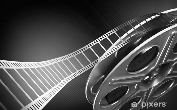 Papier peint vinyle Bobine de film cinéma - Thèmes