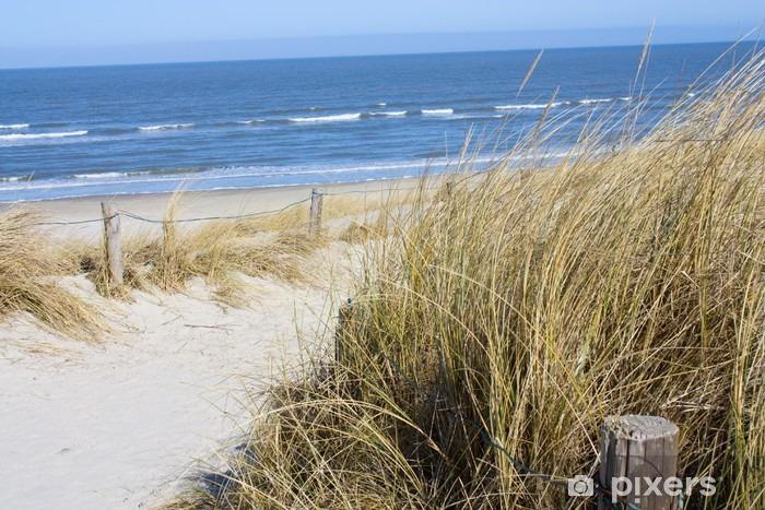 Naklejka Pixerstick Plaża Morze Północne - Przeznaczenia