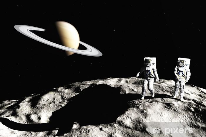 Papier peint vinyle Sur astéroïde - Planètes