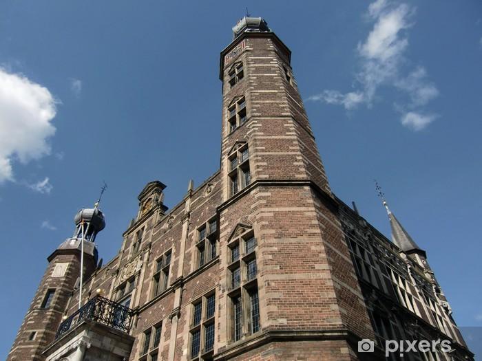 Vinyl-Fototapete Historische Rathaus (Stadhuis) Venlo / Niederlande - Europa