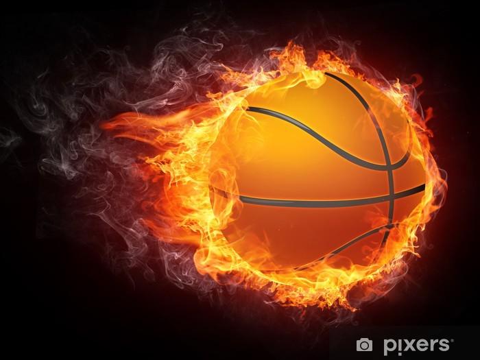 Vinilo Pixerstick Bola del baloncesto - Baloncesto