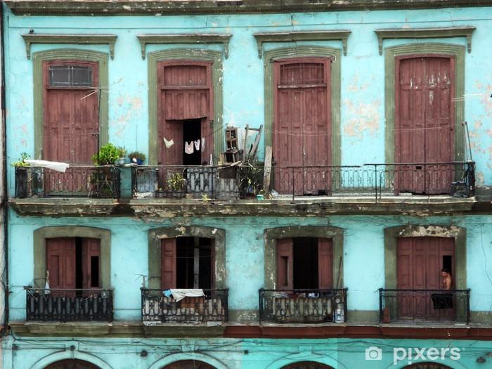 Fotomural Estándar Palazzo coloniale - La Habana - Temas