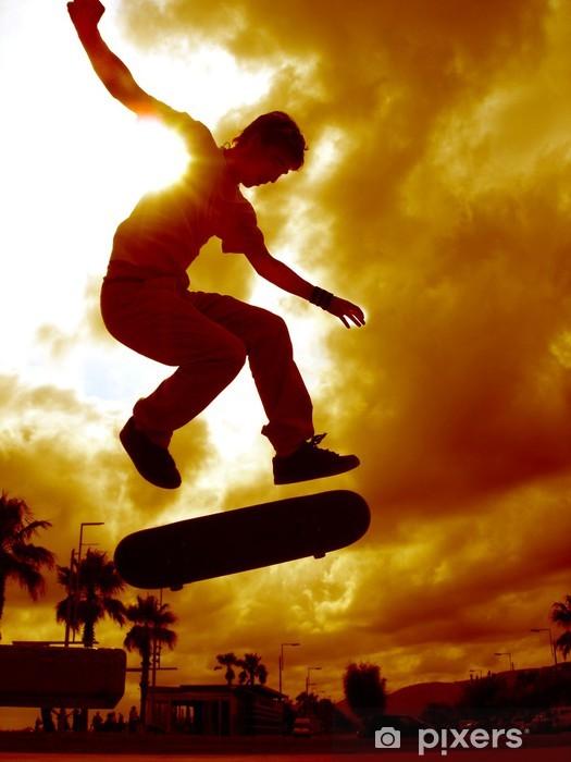Fototapeta winylowa Hiszpański skater - Skateboarding