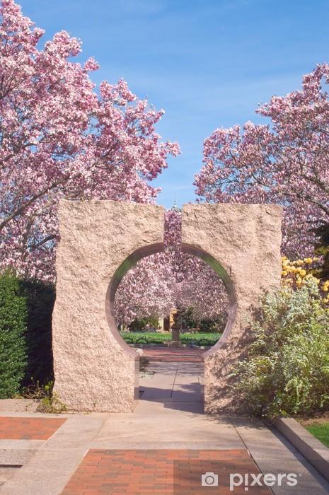 Fototapeta winylowa Ogród w Smithsonian; - Miasta amerykańskie
