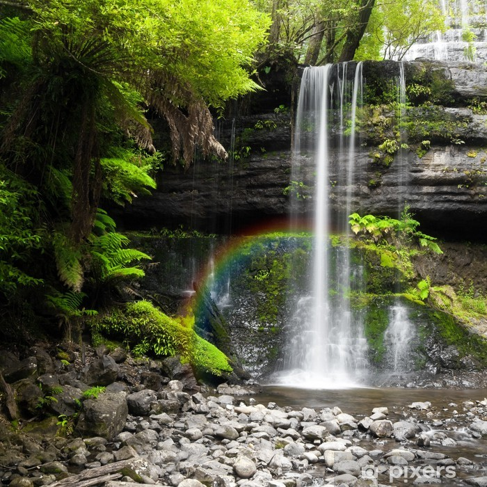 Naklejka Pixerstick Wodospad - Przeznaczenia