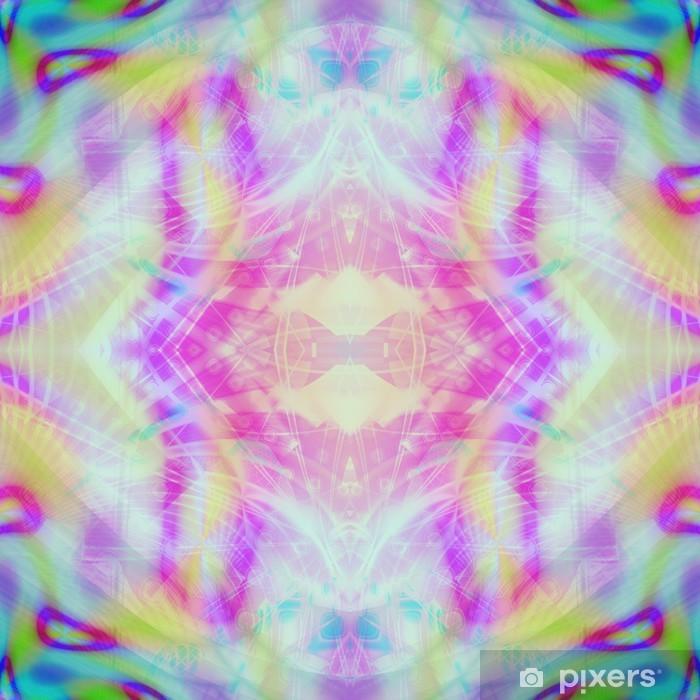 Tietokoneella värikäs abstrakti tausta Vinyyli valokuvatapetti - Abstrakti