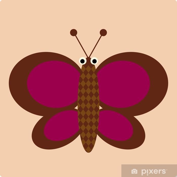Naklejka Pixerstick Motyl - Sztuka i twórczość