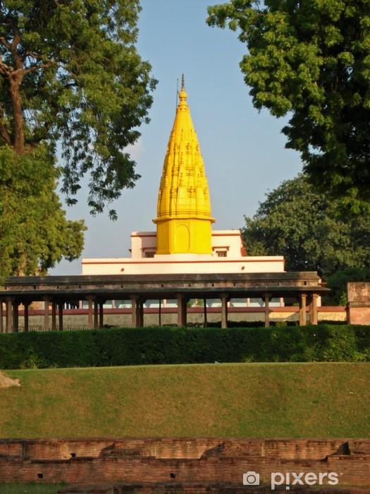Naklejka Pixerstick Świątynia w Sarnath - Azja
