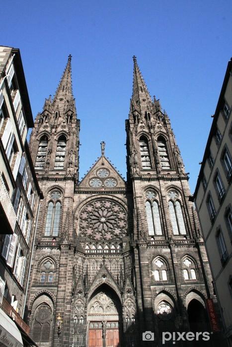 Papier Peint Autocollant Cathédrale de Clermont Ferrand • Pixers