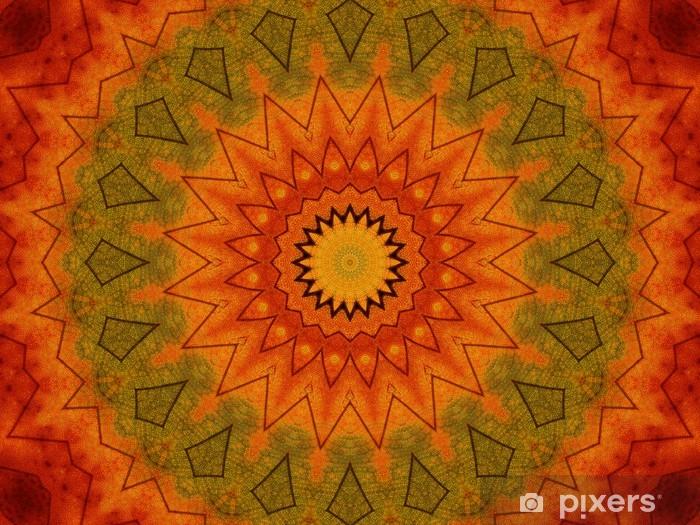 Papier peint vinyle Kaléidoscope - Arrière plans