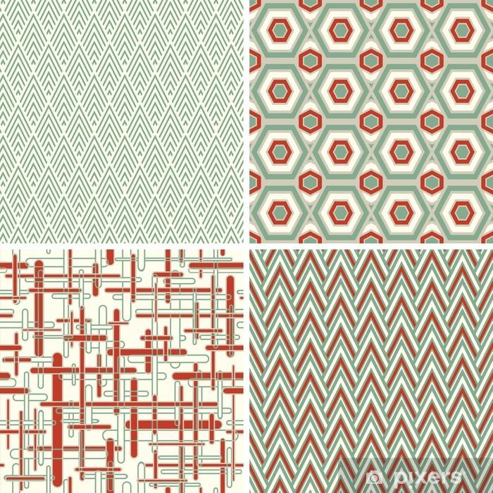 Carta Da Parati Disegni Geometrici In Stile Astratto Pixers