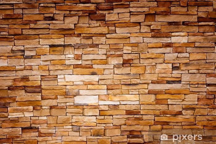Fototapeta winylowa Rzemieślnicze Brick Wall - Tekstury