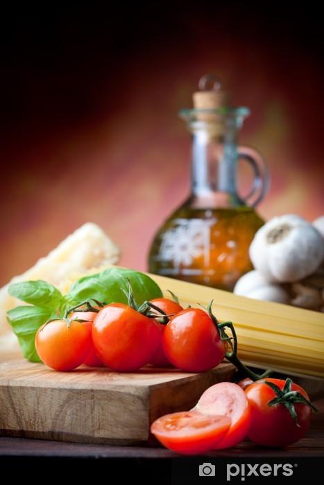 Papier peint vinyle Cuisine méditerranéenne - Thèmes