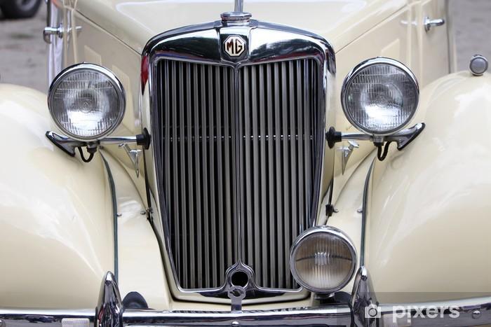 Fototapeta winylowa Krata klasyczny samochód - Transport drogowy