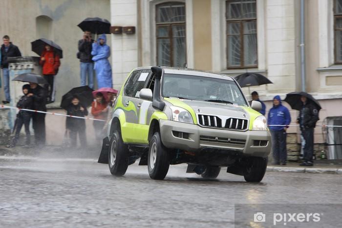 Pixerstick Sticker 4x4 rally - Extreme sport