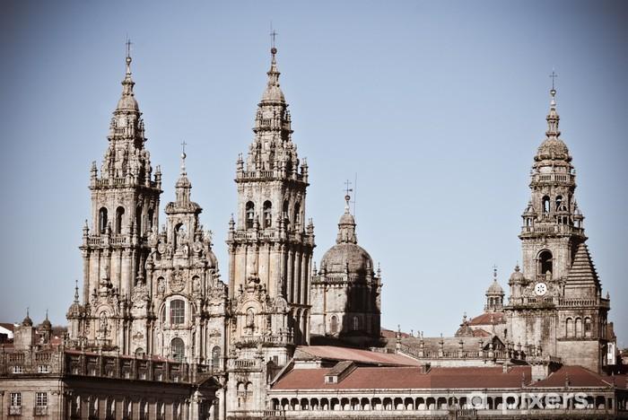 Vinilo Pixerstick Catedral de Santiago de Compostela - Construcciones públicas