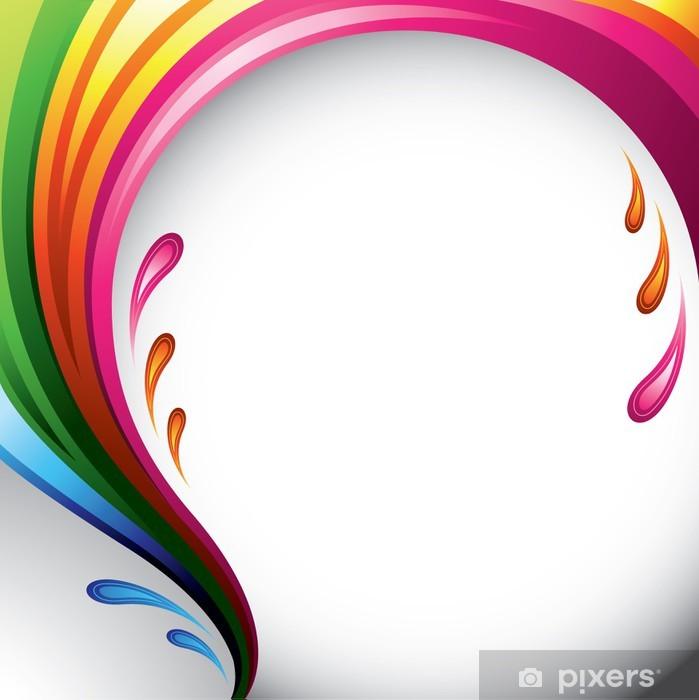 Plakát Úvodní různých barev - konstrukce na pozadí pro váš text - Pozadí