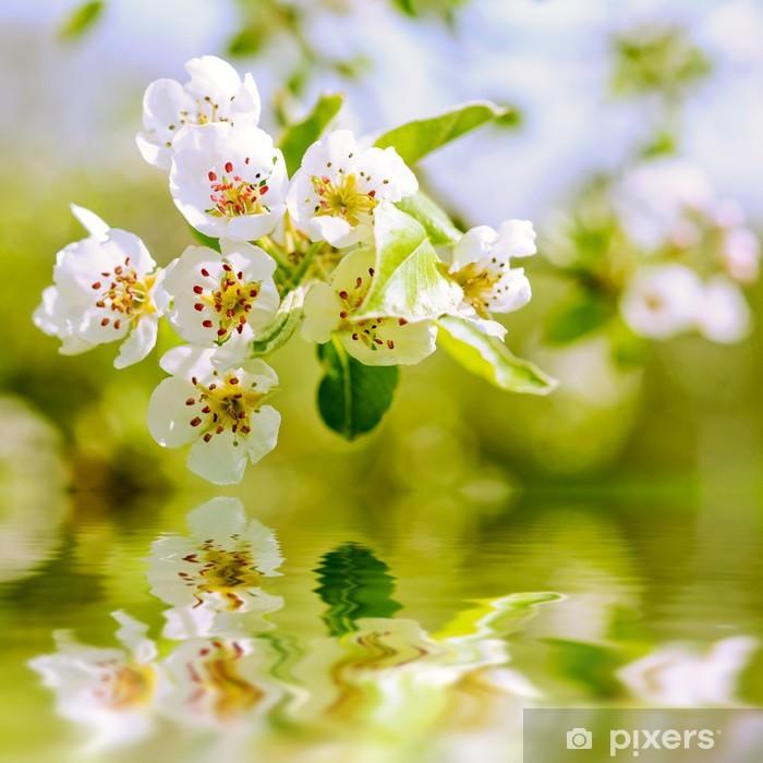 Nálepka Pixerstick Apple květy na jaře - Roční období