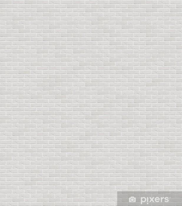 Vinilo Pixerstick Marca nuevo muro blanco edificio de apartamentos ...