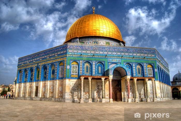 Pixerstick Dekor Klippdomen i Jerusalem - Mellanöstern