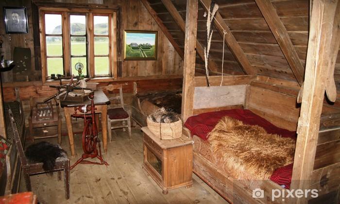 Fototapeta winylowa Stary Islandzki dom - Europa