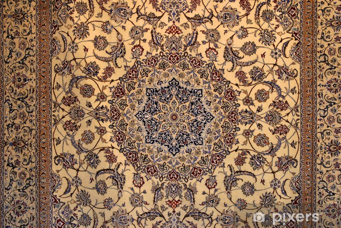 Persian carpet Vinyl Wall Mural - Abstraction
