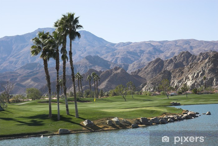Pga West Golf Course Palm Springs Ca Wall Mural Pixers We Live To Change