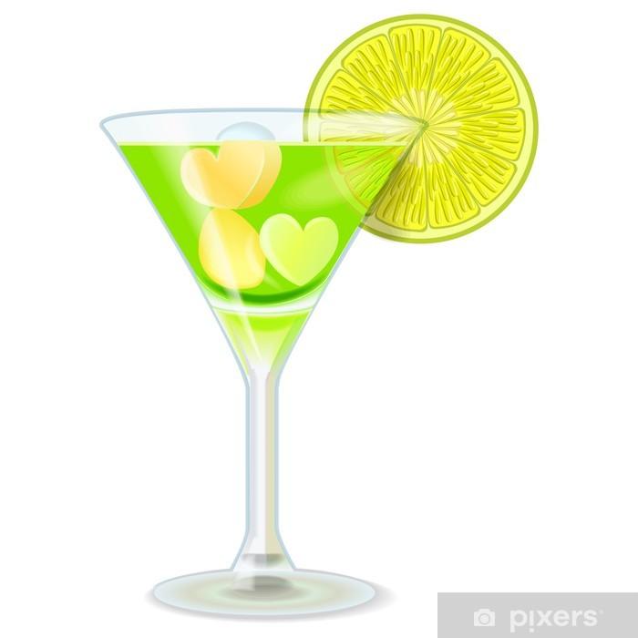 Plakat Pić Lime Green - Alkohol