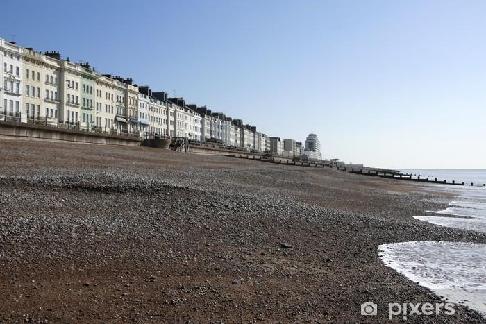 Vinylová fototapeta Regentství architekturu Hastings pláž - Vinylová fototapeta