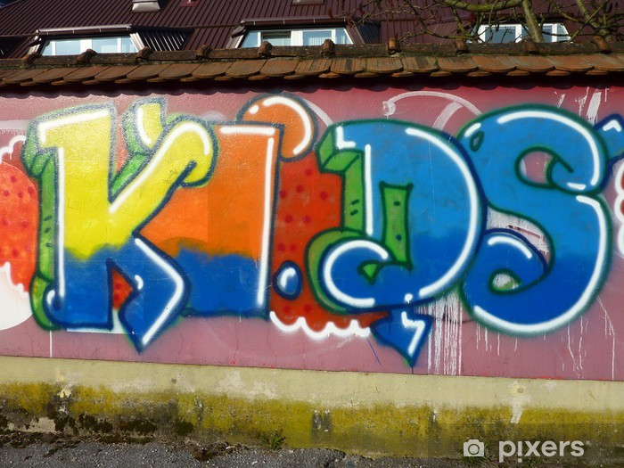 Kids Vinyl Wall Mural Infrastructure