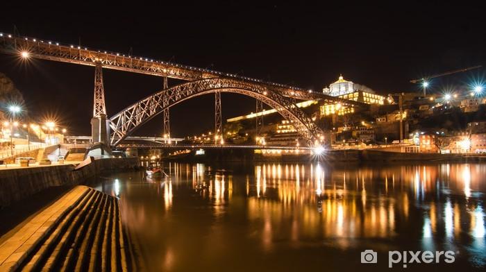 Papier peint vinyle Porto - Ponte Dom Luis I - Vacances