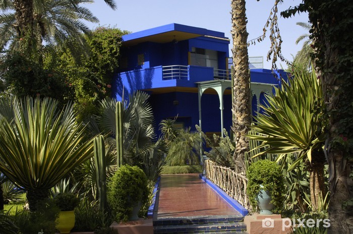 Maroc Marrakech Jardin Majorelle Wall Mural Pixers We Live To