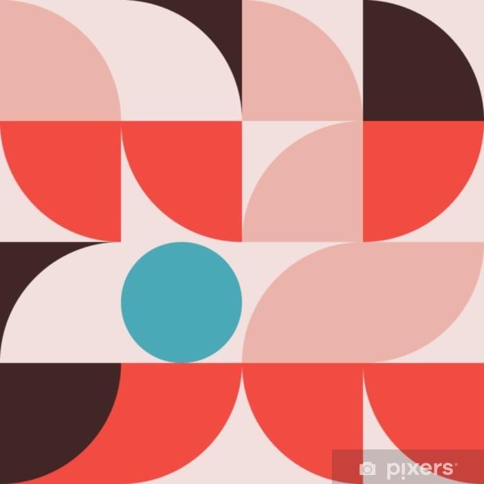 Fototapeta winylowa Abstrakcyjna geometria wzór graficzny 08 - Zasoby graficzne