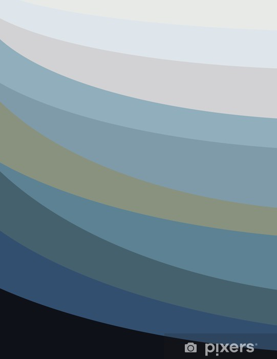 Nálepka Pixerstick Barevné Roztavený Heart Waves II - Pozadí