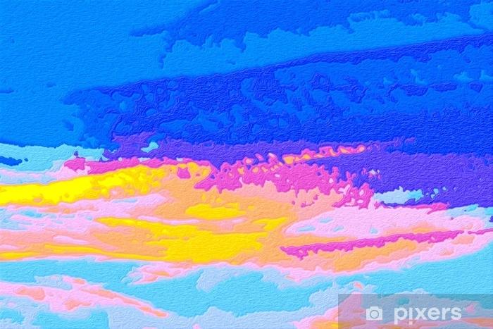 Zelfklevend Fotobehang Abstracte achtergrond - gekleurde reliëfspots in pastelkleuren. - Grafische Bronnen
