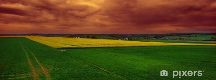 Naklejka Pixerstick Belgijska wieś - Ekologia