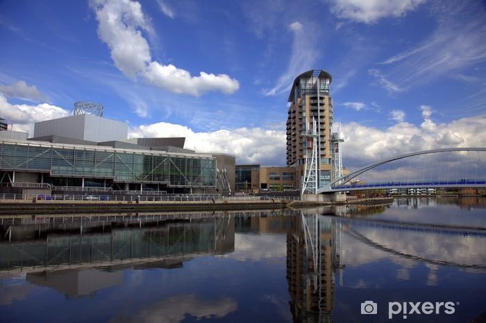 Fototapeta winylowa Salford Quays w Manchesterze - Budynki prywatne
