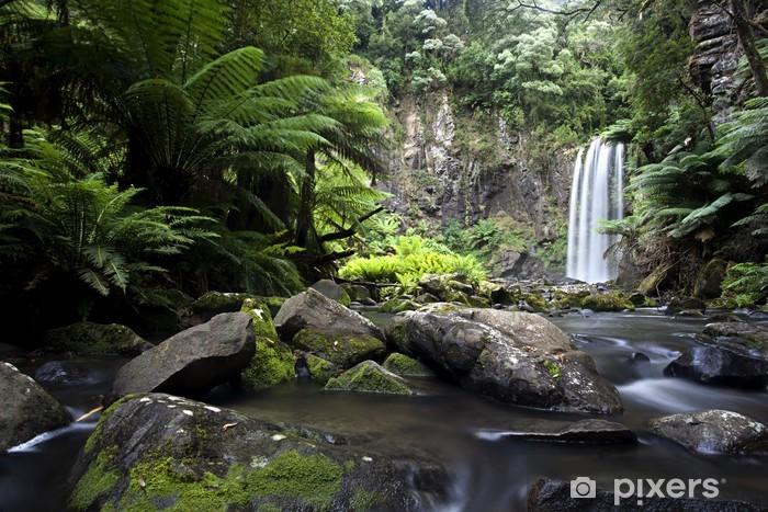 Papier peint vinyle Cascades coulent douce Victoria, Australie - Thèmes