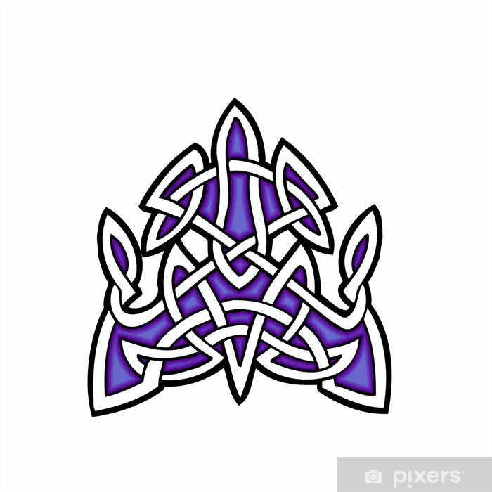 Papier peint vinyle Conception ornementale celtique. - Beauté et soins du corps