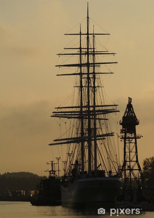 Fotomural Estándar Viejo barco de vela - Barcos