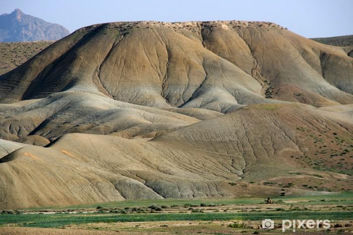 Fototapeta winylowa Krajobraz pustyni w pobliżu Oued Moulouya, Maroko - Afryka