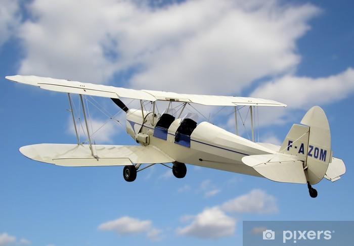 Papier peint vinyle Biplan 2 - Dans les airs