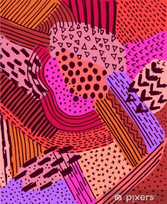 Welp Fotobehang Geometrische abstracte achtergrond, geometrisch patroon YW-73