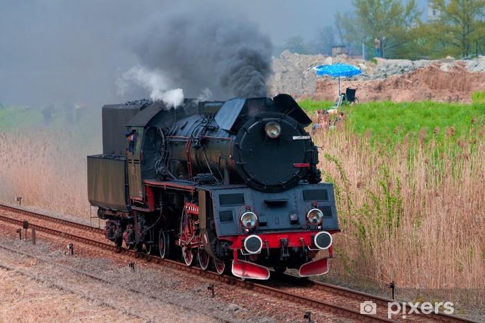 Nálepka Pixerstick Stará parní lokomotiva - Témata