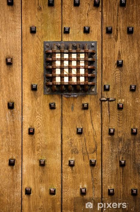Naklejka Pixerstick Zamek drzwi - Style