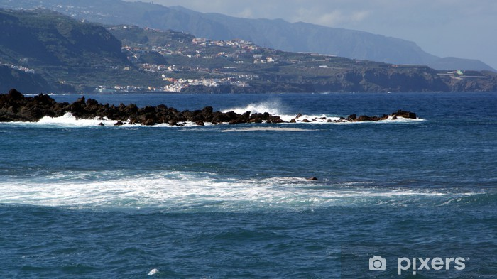 Sticker Pixerstick Tenerife, îles Canaries, Espagne - Vacances