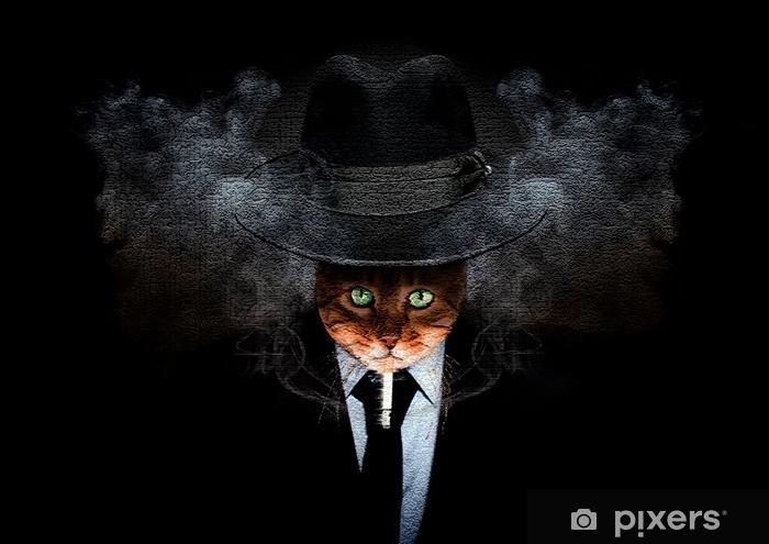 Fototapeta samoprzylepna Cat-rorschach - Zwierzęta
