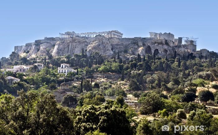 Papier peint vinyle Parthénon sur l'Acropole d'Athènes en Grèce - Thèmes